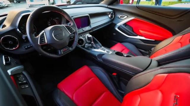 2022 Chevy Chevelle Interior