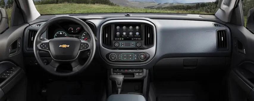 2022 Chevy Colorado New Interior Features