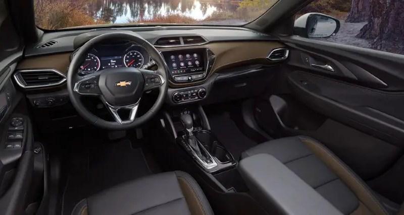 2022 Chevy Trailblazer Interior