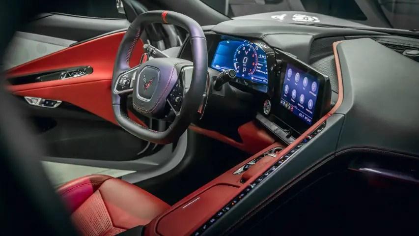 2022 Corvette C8 Z06 Interior Pictures