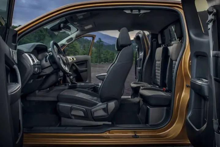 2022 Ford Ranger Interior Changes