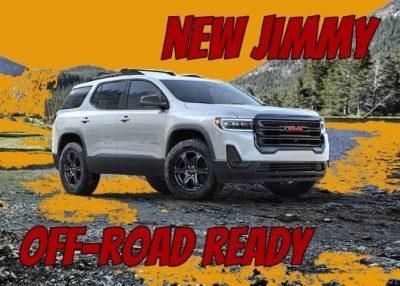 2022 GMC Jimmy Off-Road Ready SUV, Price, Release Date & Specs