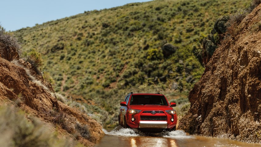 2022 Toyota 4Runner Off-Road capability