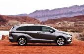 2022 Toyota Sienna Hybrid Engine Exterior Grey Exterior