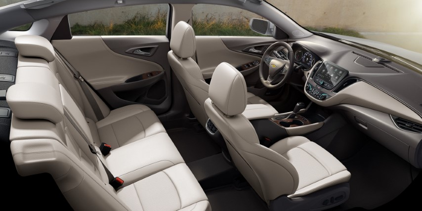 2022 chevy malibu Interior With New Colors