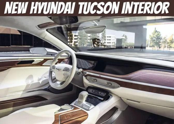 New Hyundai Tucson 2022 Interior Concept