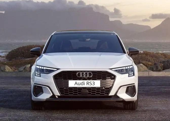 2022 Audi RS 3 Sportback Hatchback Front Angle