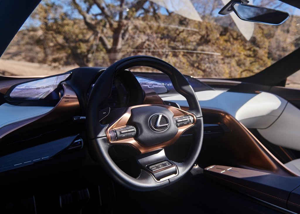 2022 Lexus LQ Interior Pictures