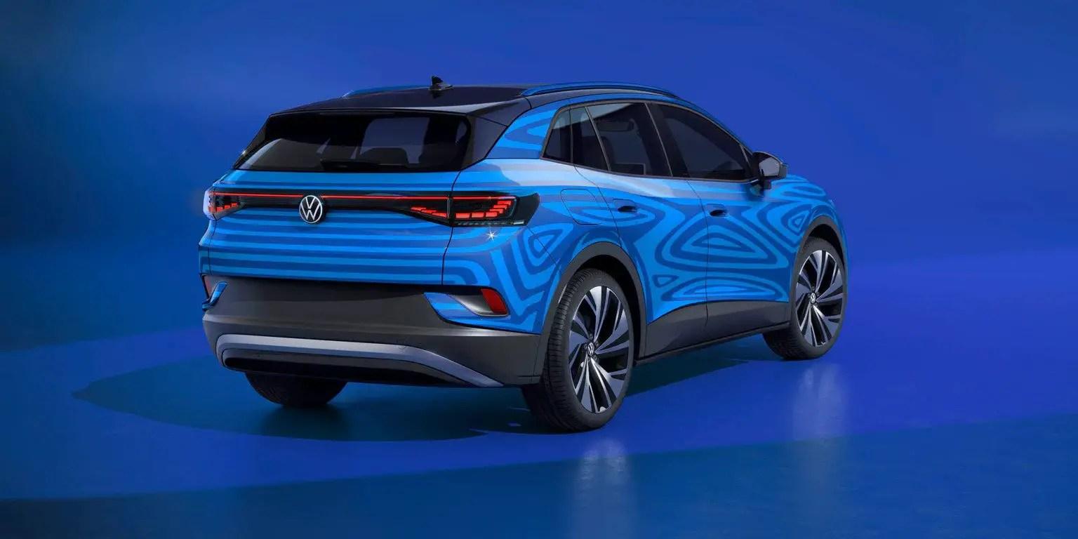 2022 VW ID.4 Battery Range