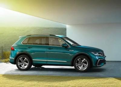 2022 VW Tiguan Review, Fresh Front End Look & New Tech
