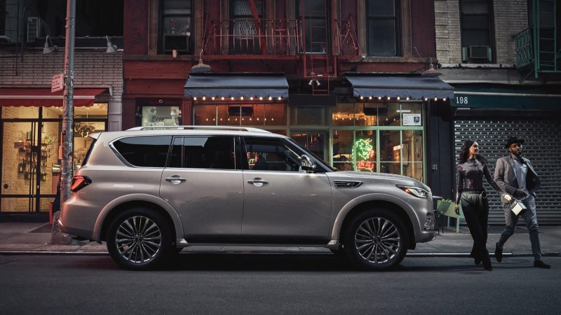 New Infiniti QX80 Dimensions