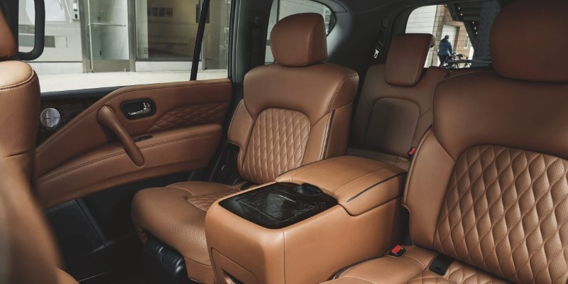 New Infiniti QX80 Interior With Leather Seat