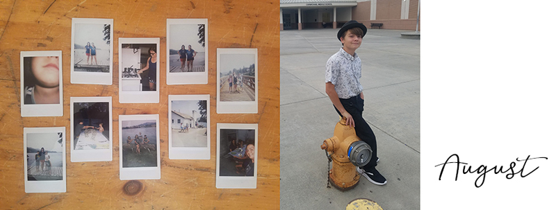 Instant photos from our Lake Chelan vacation and a new middle school