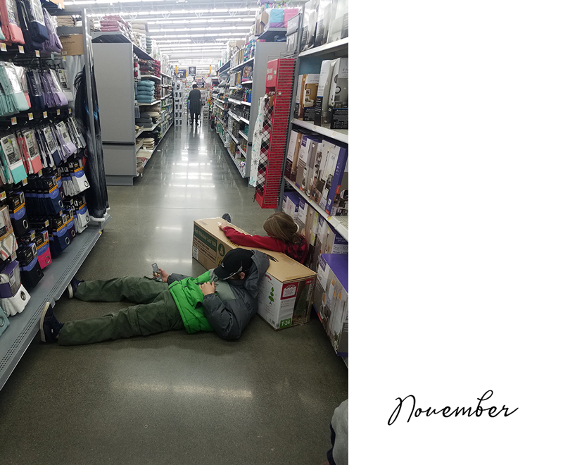 Black Friday exhausted after Thanksgiving Amazon Christmas tree flub