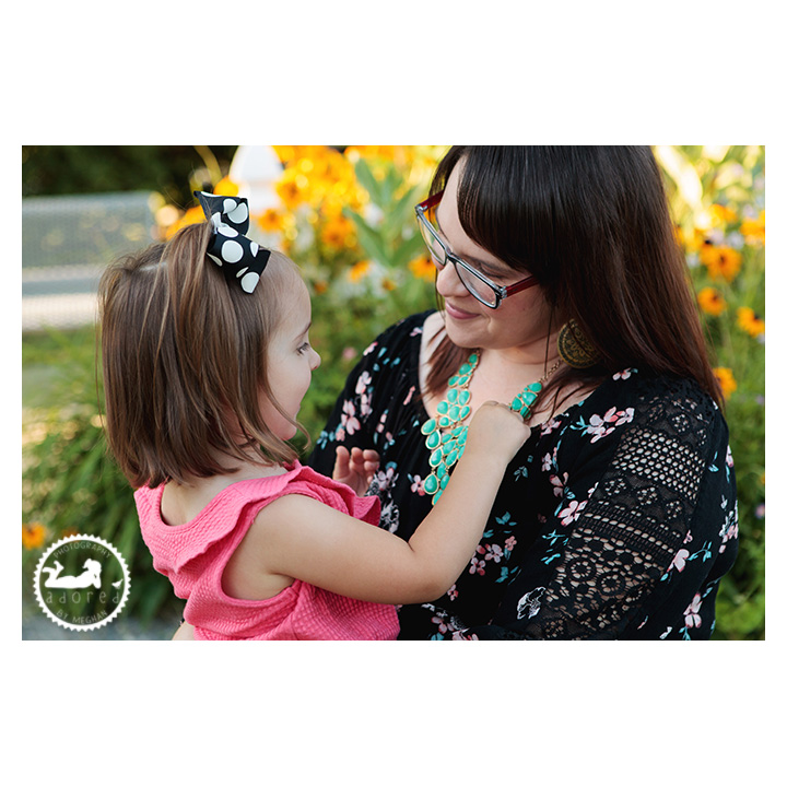 Portraits of Mom and Daughter, photographed during nursing session by Adored by Meghan, Richland, WA