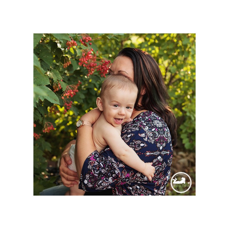 Momma & Baby during their nursing portrait session during World Breastfeeding Week, photographed by Adored by Meghan, Richland, WA