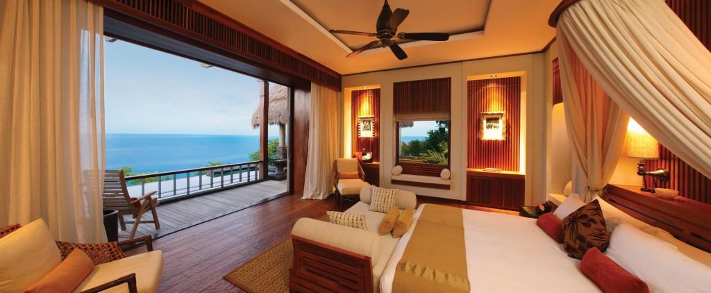 Maia Luxury Resort _ Spa - Maia Ocean Panoramic Villa Bedroom