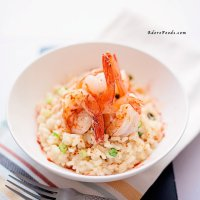 Garlic Prawn Risotto (Shrimp)
