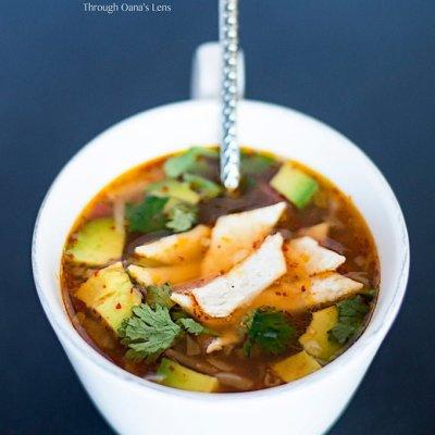 Mexican Caldo Tlalpeno | Adore Foods