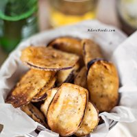 Crispy Fried Eggplant (Aubergine) Recipe