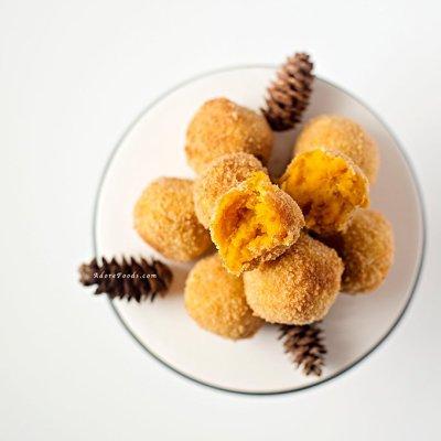Japanese Pumpkin Croquettes (Kabocha Korokke)