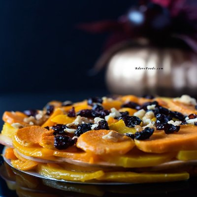 Fall squash, sweet potato and apple bake