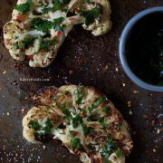 Chimichurri Cauliflower Steak