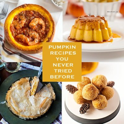 Crazy Good Pumpkin Recipes You Never Tried Before