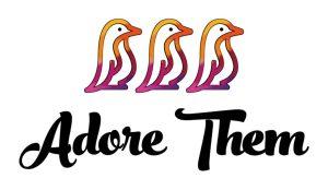 Adore Them Colored Logo