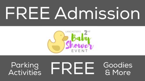 Lancaster Baby Shower Admission