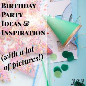 Birthday Party Ideas & Inspiration