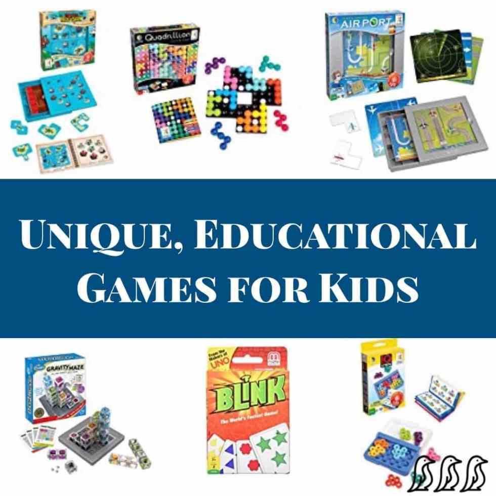 Unique Educational Games for Kids