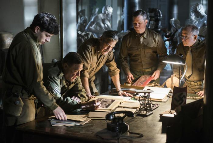 Szenenbild aus MONUMENTS MEN - © 20th Century Fox