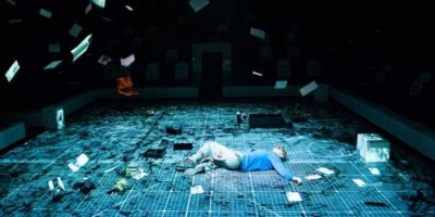 Szenenbild aus THE CURIOUS INCIDENT OF THE DOG IN THE NIGHT-TIME - © Photo by Manuel Harlan