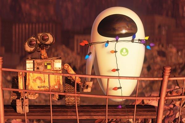 Wall-E und Eve - © Walt Disney Studios Motion Pictures France