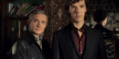 Sherlock Staffel 3 - Martin Freeman und Benedict Cumberbatch - © Polyband Medien