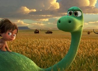 Szenenbild aus THE GOOD DINOSAUR - ARLO & SPOT - © 2015 Disney•Pixar. All Rights Reserved.