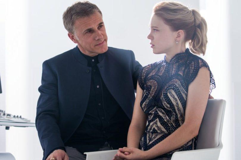 Szenenbild aus SPECTRE - Oberhauser (Christoph Waltz) und Swann (Léa Seydoux) - © Sony