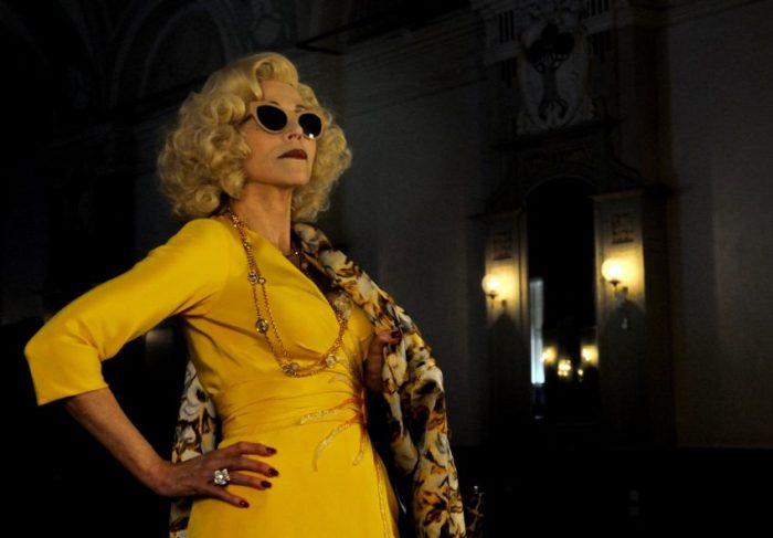 Szenenbild aus EWIGE JUGEND - LA GIOVINEZZA - Jane Fonda als Filmstar Brenda Morel - © Wild Bunch Germany/Gianni Fiorito
