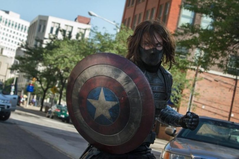 "Filmstill aus CAPTAIN AMERICA: WINTER SOLDIER - Der ""Winter Soldier"" - © Marvel/Disney"
