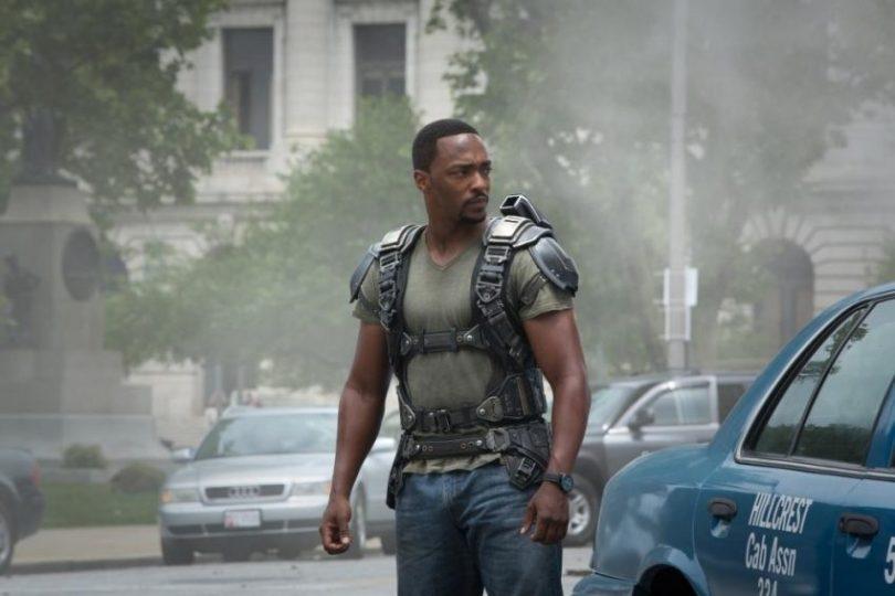 Szenenbild aus CAPTAIN AMERICA: THE WINTER SOLDIER - Sam Wilson aka der Falcon (Anthony Mackie) - © Marvel/Disney