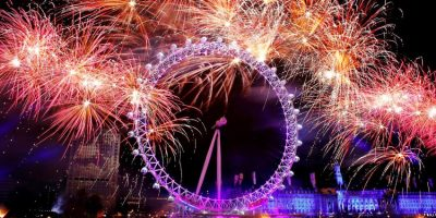 Feuerwerk Silvester Jahreswechsel London London Eye Quelle: http://www.kcwtoday.co.uk/wp-content/uploads/2015/06/New-Year-London-Fireworks-2014-Wallpaper.jpg