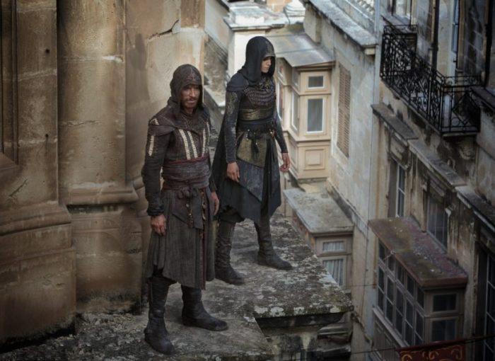 Aguilar (Michael Fassbender) und Maria (Ariane Labed) - © 20th Century Fox