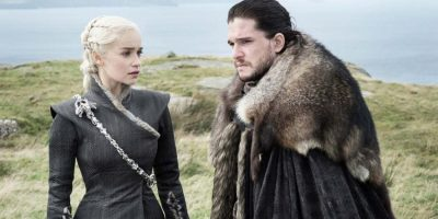 Filmstill Game of Thrones Staffel 7 - Daenarys (Emilia Clarke) und Jon (Kit Harrington)- © HBO