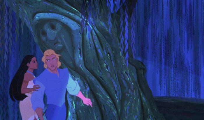 Filmstill aus POCAHONTAS - Großmutter Weide - © Disney