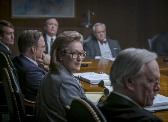Szenenbild aus THE POST (2017) - DIE VERLEGERIN - Katherine Graham (Meryl Streep) - © Universal Pictures Germany