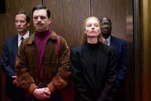 Szenenbild aus I, TONYA (2017) -Jeff Gillooly (Sebastian Stan) und Tonya Harding (Margot Robbie) - © DCM