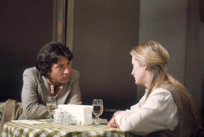zenenbild aus KRAMER GEGEN KRAMER - KRAMER VS. KRAMER (1979) - Ted (Dustin Hoffman) trifft Joanna (Meryl Streep) - © Sony Home Entertainment