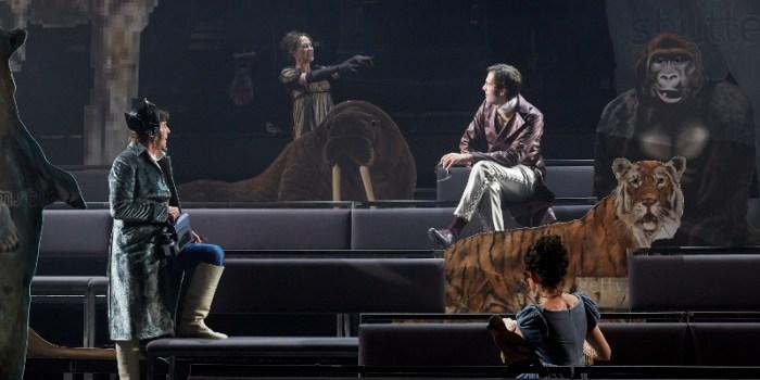 Szenenbild aus DER PREIS DES MENSCHEN - Residenztheater München 2020 - © Judith Buss