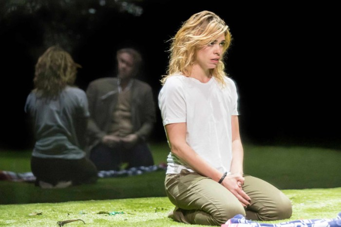 Szenenbild aus YERMA (2017) - Young Vic - Her (Billie Piper) - Photo by Johan Persson